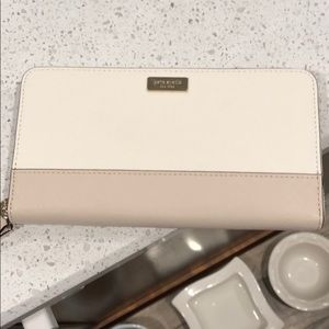 Kate spade wallet.  Cement/PMC.